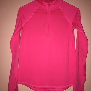 Bright pink Justice jacket for girls!!